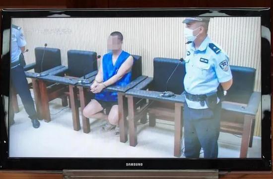 被告人杨某接受一审宣判