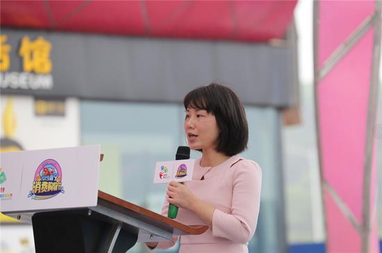 南宁市商务局副局长张丽致辞