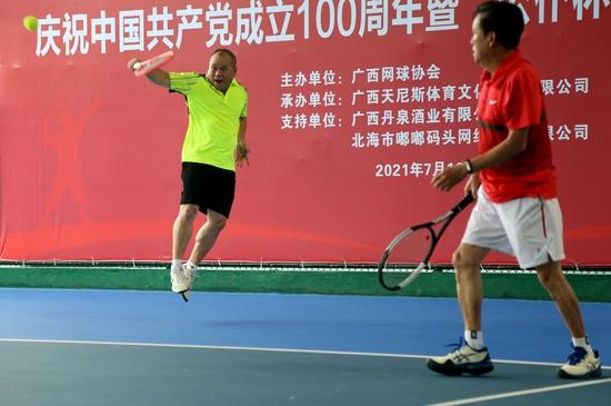 """庆祝中国共产党成立100周年暨""""公仆杯""""广西网球邀请赛举办"""
