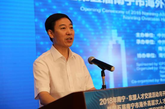 市委常委、市人民政府副市长张文军致辞