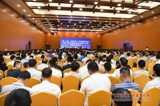 广西:推行监管现场与市场挂钩 倒逼企业加强工程质量管控