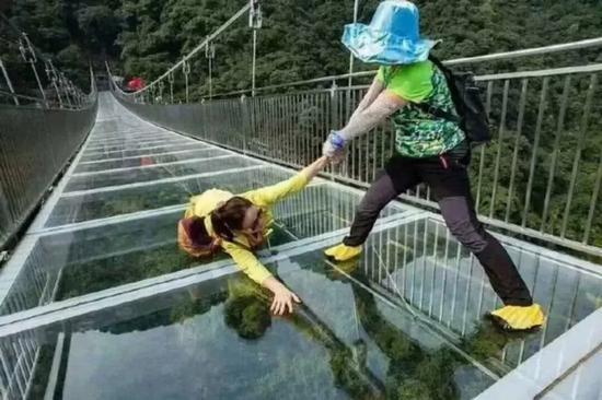 △水锦·顺庄游玩项目-玻璃桥