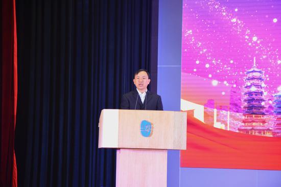桂林力源粮油食品集团有限公司总经理曾宪发言