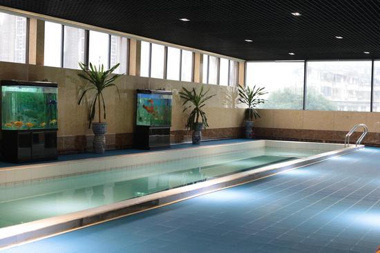 正培运动馆内还设有游泳池、棋牌室、健身房等运动设施