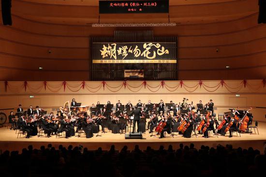 广西交响乐团和广西歌舞剧院附属合唱团