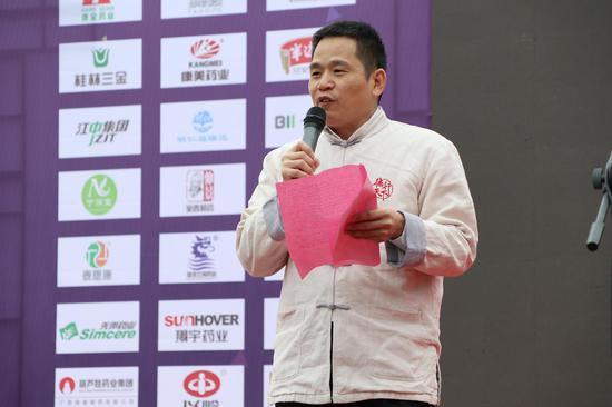 广西康全药业连锁有限公司董事长庞云