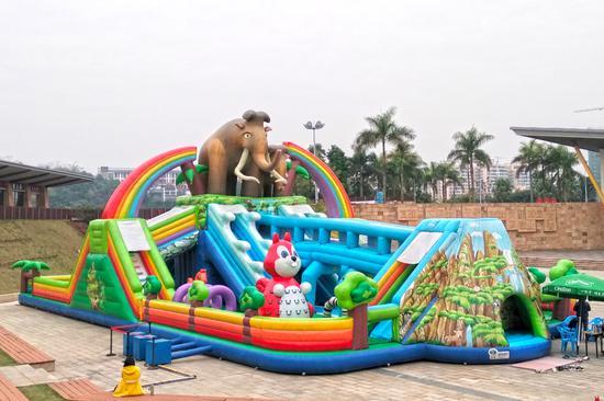 李宁体育园猛犸象乐园春节将免费供市民玩乐