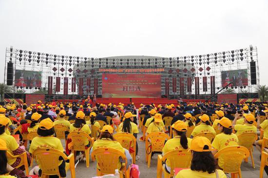 """壮乡•武鸣""""壮族三月三""""歌圩暨骆越文化旅游节开幕"""