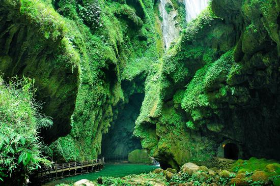新浪博主:广西通灵大峡谷景区