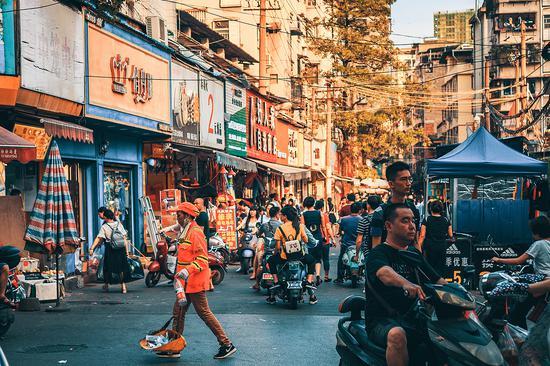 老街情深 属于广西的城市文化缩影