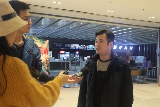 南宁1668广场陈石总经理接受采访