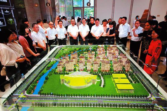 南宁威宁青运村系全国第3座青运村 预计2022年底完