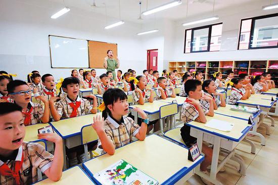 南宁加大新学校建设力度 十三五建成105所公办中小学