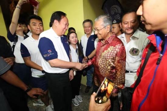"""马来西亚总理颁奖!""""一带一路""""国际帆船赛圆满收官"""
