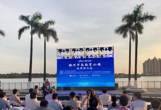 首届钦州华为数字小镇招商推介会在钦州举办