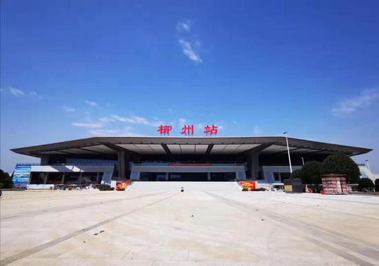 柳州火车站进站方式有新变化
