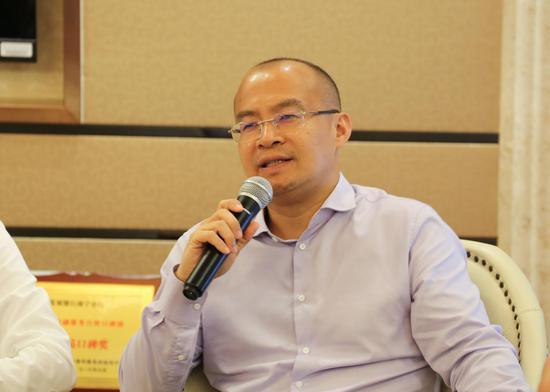 上海砥砺资产管理公司总经理梁瑞安。