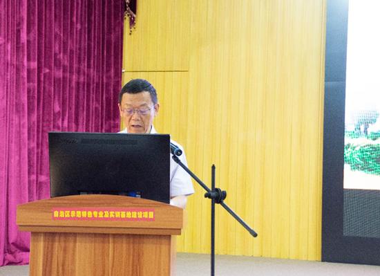广西职业技术学院党委书记李卫东致辞