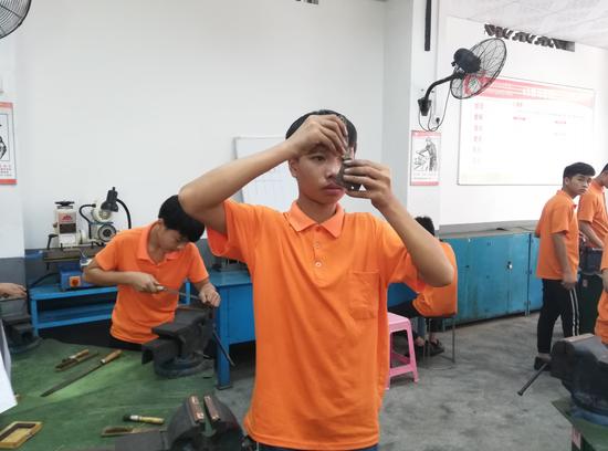 钳工测量练习
