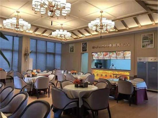 彰泰各项目的业主食堂