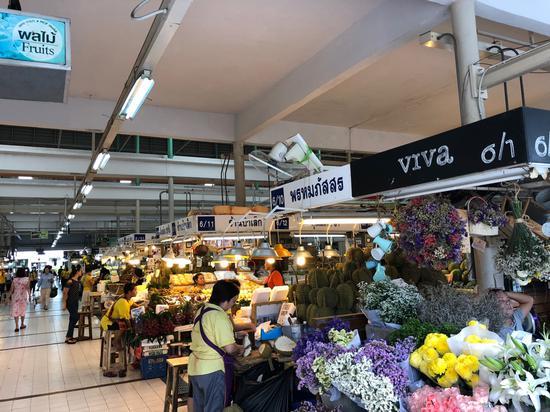 泰国农民行销协会惠农市集