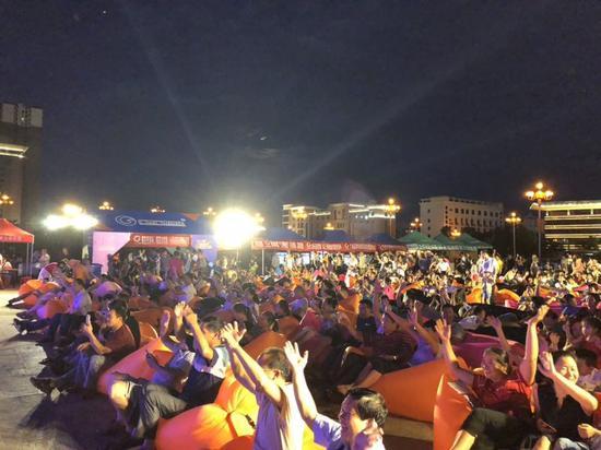 河池宜州市活动现场情况