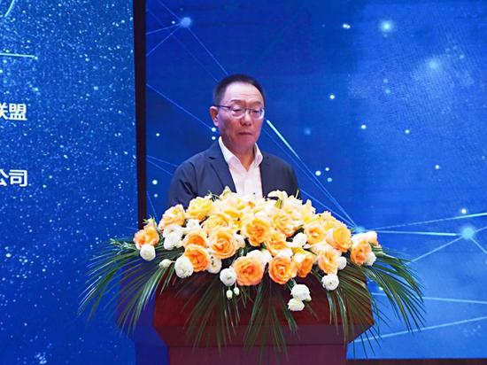 中国创新设计产业战略联盟副理事长张彦敏致辞