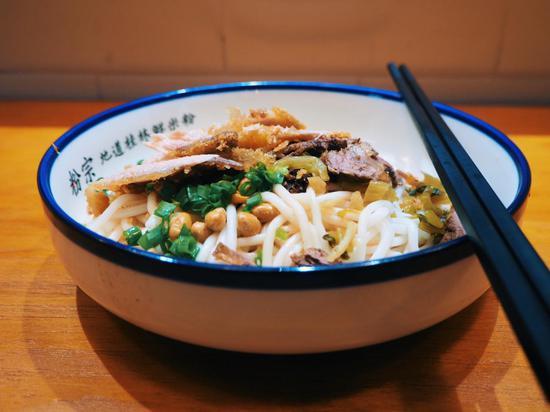 桂林三养胶麦生态食疗产业有限责任公司研制的鲜米粉