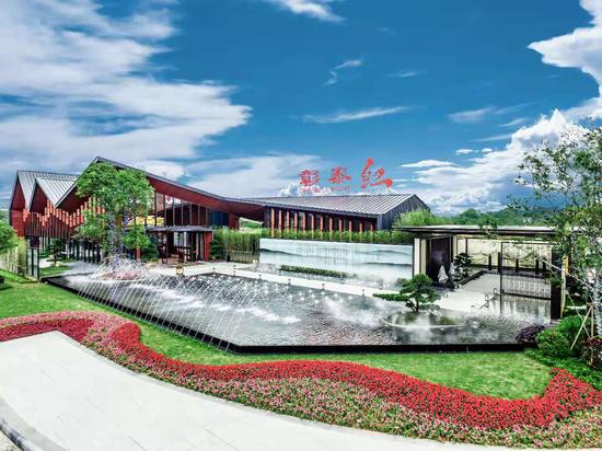 桂林彰泰红项目实景图
