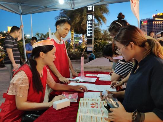 航洋爱心捐血屋启用1周年 近七千市民献血超200万毫升