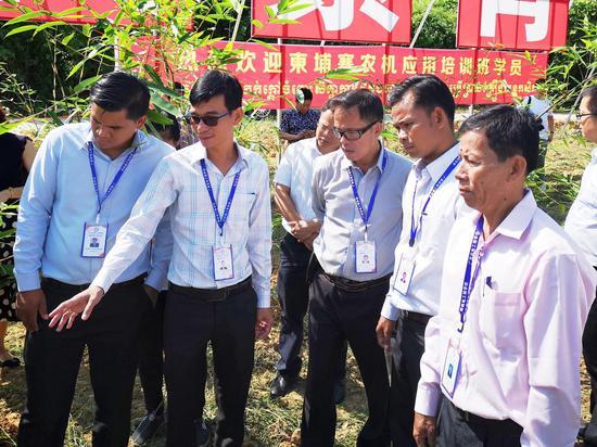 中柬农业促进中心巴马实训基地挂牌成立