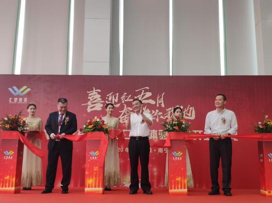 广西首家汽车5S体验中心汇望名车开业