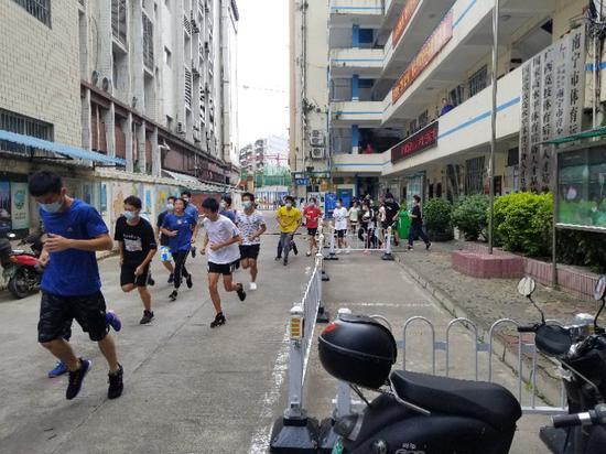 南宁市体育运动学校开展消防应急演练