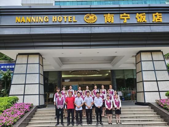 在南宁饭店就业的学生代表