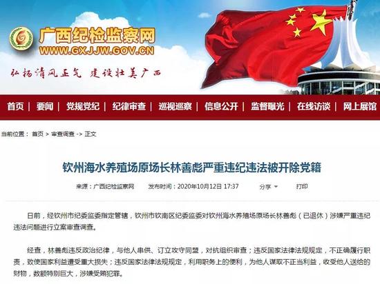 通报 广西一副市长被提起公诉 还有多名领导干部被处分