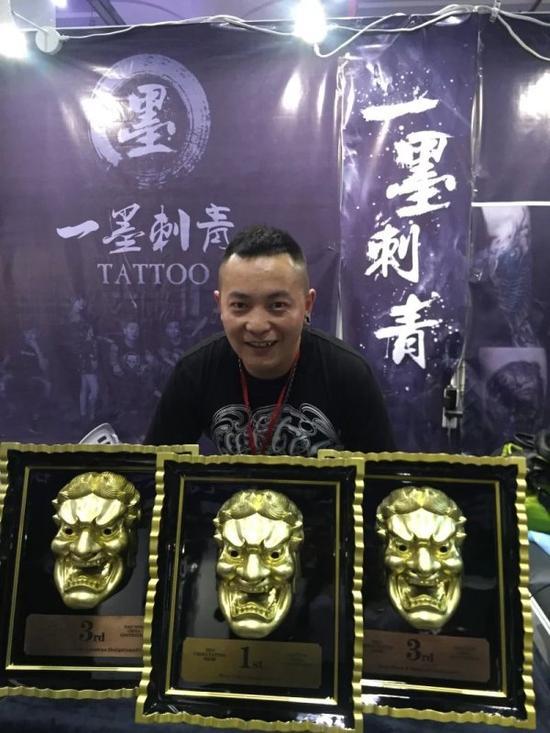 一墨刺青超越北上广 南宁纹身展获八项殊荣