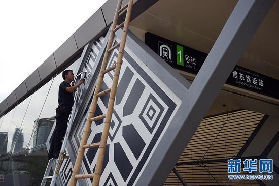 南宁:地铁1号线东段将于近期试运营(组图)
