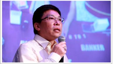 (图右:菲律宾双龙国际开发集团董事长 杜禹翰)