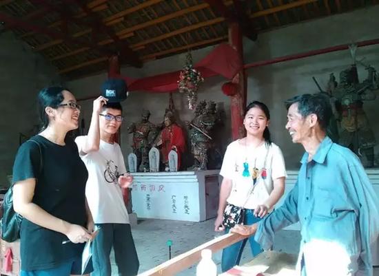 三界庙的过往,老人把三界庙的历史娓娓道来。