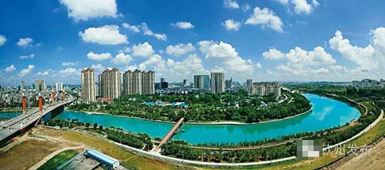 钦州城市新貌