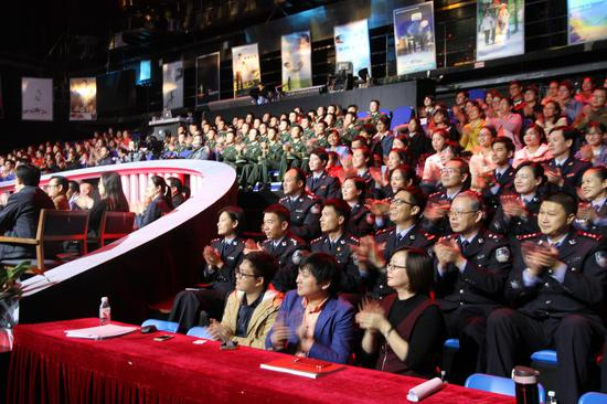 颁奖典礼现场。
