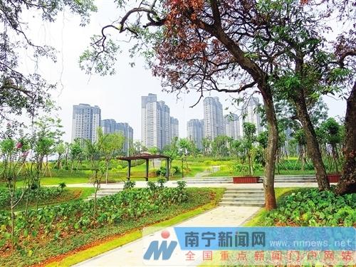 沿线景点有花有树,适合市民游玩锻炼