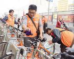 """""""公共自行车守护侠""""再出发 近三百名志愿者参与"""