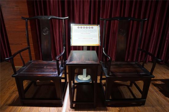 明代红木家具