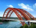 柳南高速改扩建工程新进展:马滩红水河特大桥封顶
