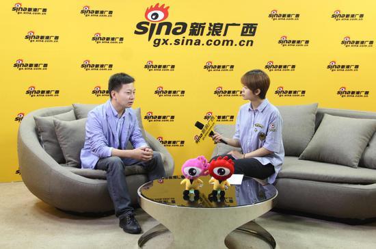 广西博世科环保科技股份有限公司技术研发总监朱红祥做客《财经面对面》