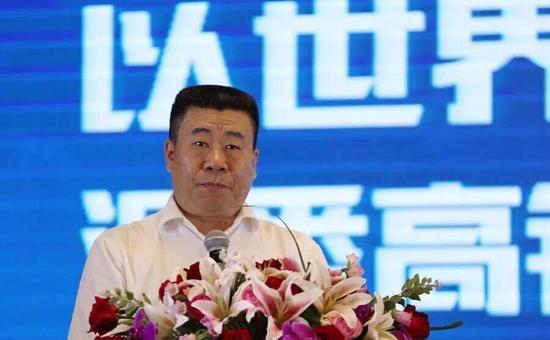 广西铁路旅游传媒集团有限公司总经理杨水生在仪式上致辞