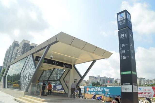 南宁地铁1号线延长运营时间 行车间隔调整为7分钟