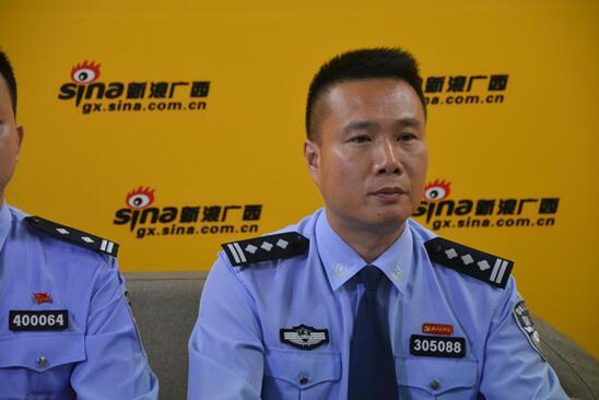 桂林市叠彩区副区长、公安局长  钟明