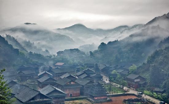 芋头古侗寨  摄影:申国贵